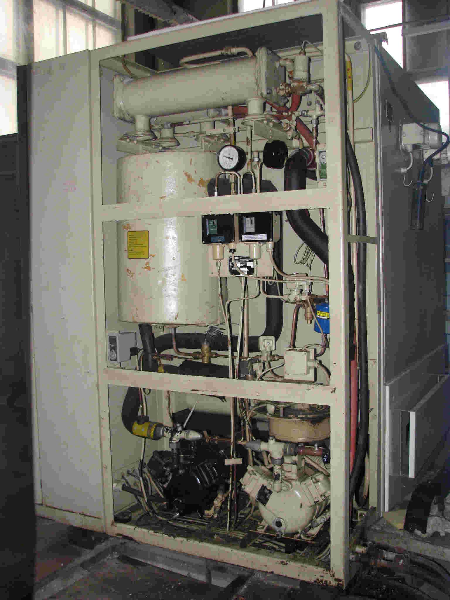 каскадная холодильная установка